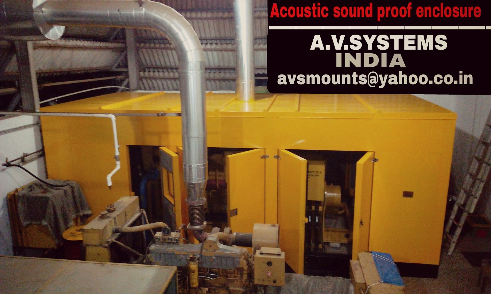 Acoustic Sound proof Enclosure Being a fast-moving organization, we are highly instrumental in providing Sound Proof Acoustic Enclosure. The offered product is known for their high-quality and superior engineering finish. Features: Application specific design Cost effective High functionality Specification: Modular construction, CR-steel sheet, glass wool, Powder coating, easy assembly and dismantling Insulation infill –Glasswool, PU foam, Polymeric membrane, cork.   Upto 25 dbA-sound reduction Conforms to CPCB, and EMS specification	 Acoustic Sound proof Enclosure in Coimbatore Acoustic Sound proof Enclosure in Chennai Acoustic Sound proof Enclosure in Tiruppur Acoustic Sound proof Enclosure in Cochin