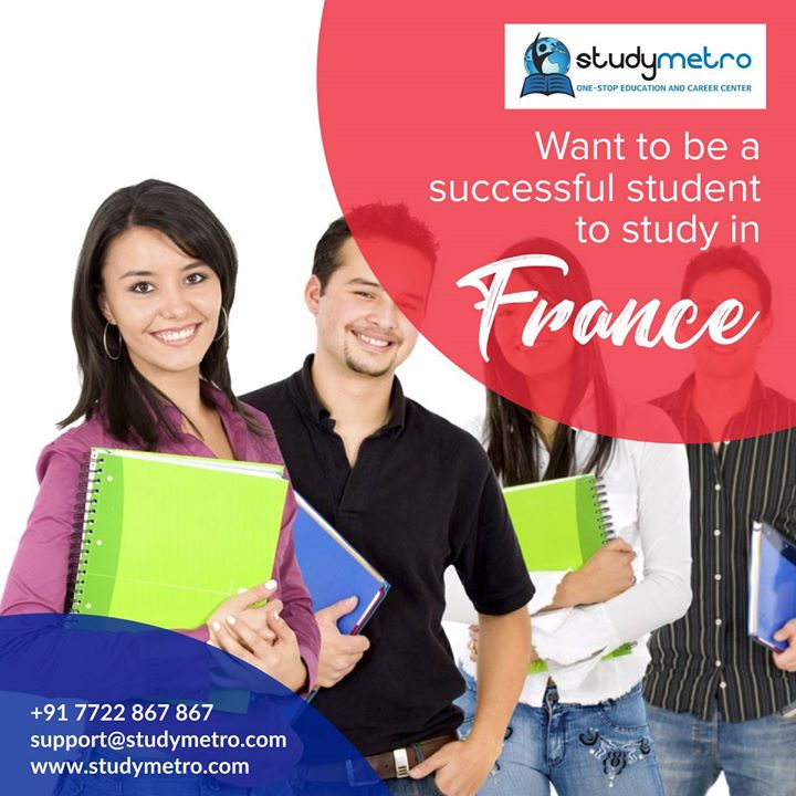 Want to be a successful Students to study in France http://ow.ly/NBot30hFavs
