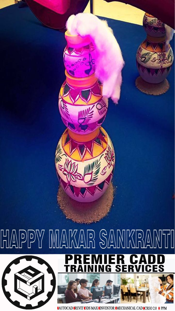 PREMIER CADD TRAINING SERVICES WISHING YOU AND YOUR FAMILY HAPPY MAKARA SANKRATHI