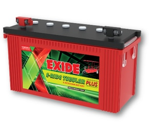 EXIDE E-RIDE TUBULAR PLUS EXIDE E-RIDE TUBULAR PLUS Dealer EXIDE E-RIDE TUBULAR PLUS Distributor EXIDE E-RIDE TUBULAR PLUS Retailer EXIDE E-RIDE TUBULAR PLUS Exide E-Ride battery has been specially developed and designed for e-rickshaws after in-depth research. Its unique features ensure maximum performance which in turn translates to better savings for the e-rickshaw owner. It is far superior to other brands and comes with the assurance of quality and performance. Rugged Tubular Positive plate - Suited for high power, deep discharge cyclic application Special Negative Paste recipe - To endure power surge and fast re-chargeability Special Alloy System - For fast charge acceptance and low top-up frequency Double Clad separation - Ensures vibration resistance Ready to fit - Batteries supplied in factory charged condition