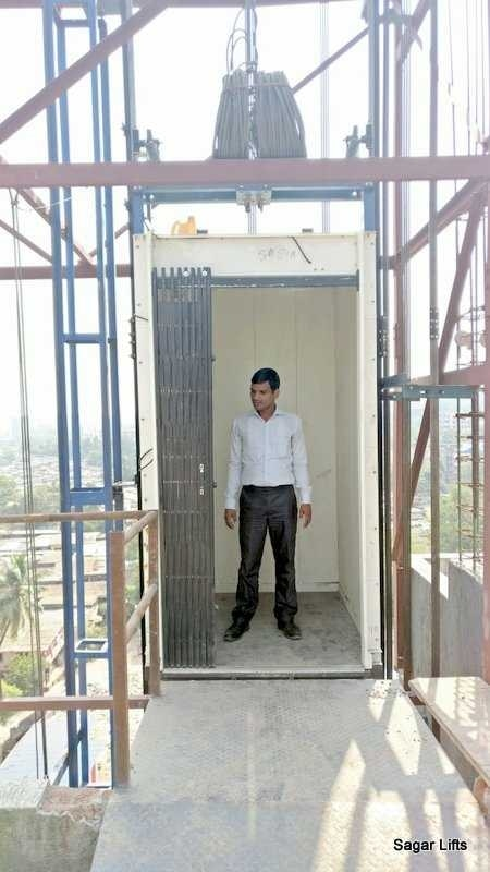 Greetings from Sagar Construction Lifts  Man & Material Construction Lifts  Features :  - Load Capacity upto 1500 kg. - Travel upto 300 Mtr / 100 Floors - Speed upto 1.5 Mtr/s - Heavy Duty Enclosure for Construction Area - 10 Safety Features - Safety Regulations Compliant  - 20x Safety Factor / Protection  - Simple Handle Operation - Long Product Life Cycle - Highly Cost Effective - Can be Reused in 4 5 projects.   Benefits : - Material Movement  - Labour Movement  - Supervisor Movement  - Architect & Consultants Movement  - Owners Directors Movement  - Client Movement   - Increase Speed of Work / Productivity  - Save Min 1 - 3 Months in Project Time - Save Min 20 - 30 Lacs in Project Cost - ROI less than 6 Months - Available on RENT SALE & BUYBACK  Thanks  Omkar Desai  Partner  Sagar Construction Lifts  9819165922  info@sagarlifts.com  www.sagarlifts.com