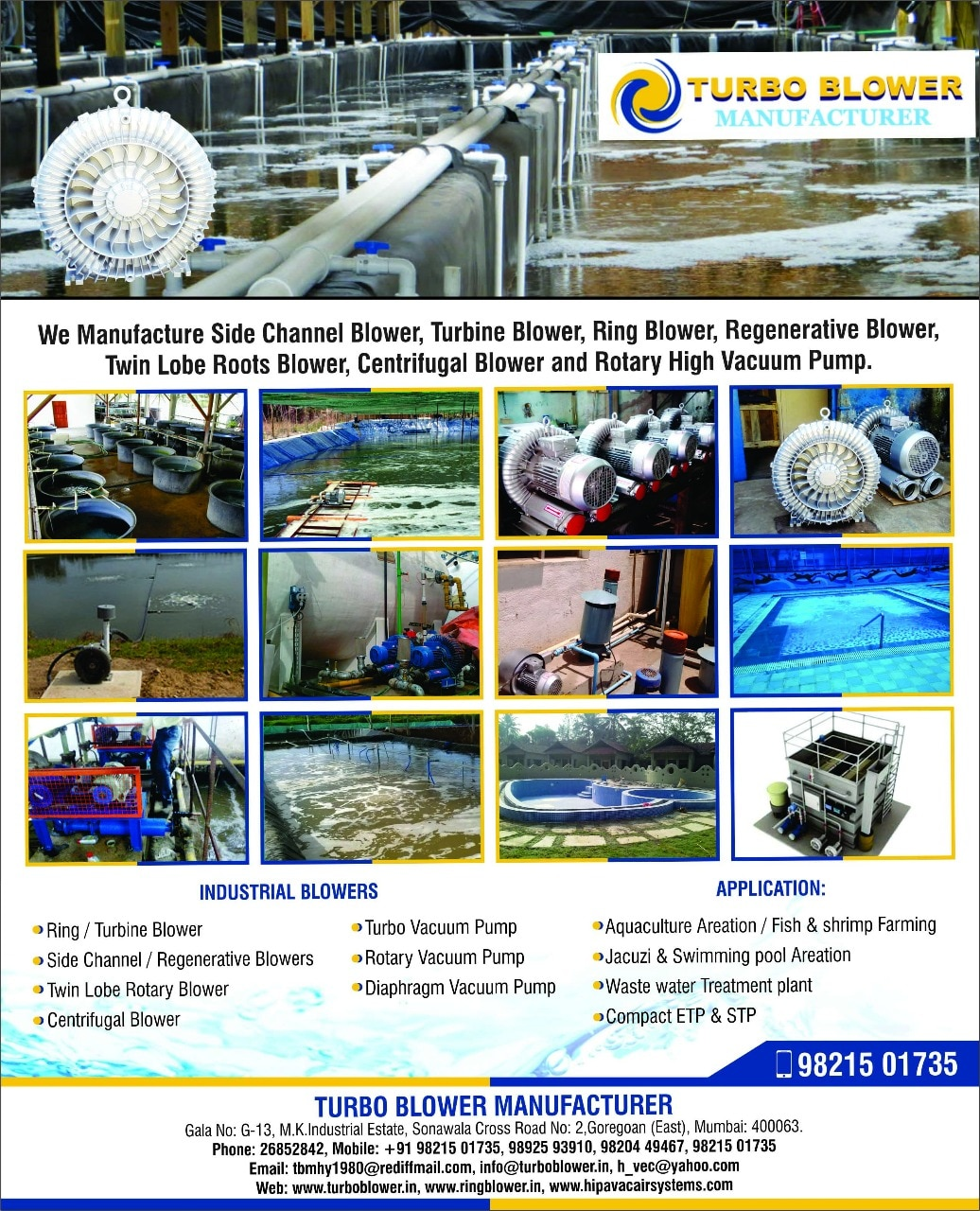 Best Services For Air blower for aquaculture, fish pond application.   For More Details Please Visit Us:- http://www.turboblower.co.in/