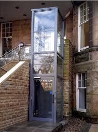 Glass lift. Imported Glass Elevator. Home lift. Hydraulic lift.