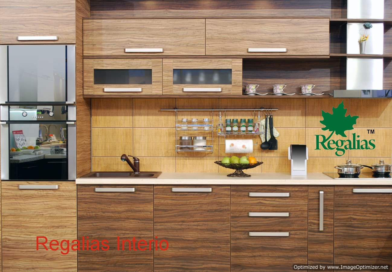 Regalias® Interio  Modular Kitchen Modular Kitchens Kitchen Interiors Kitchen Designs Modular Kitchen Designs L Shape Kitchens U shape Kitchens