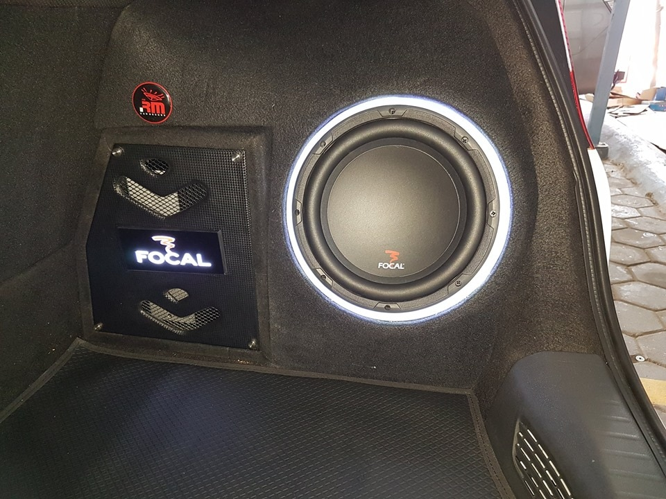Audio systems instal