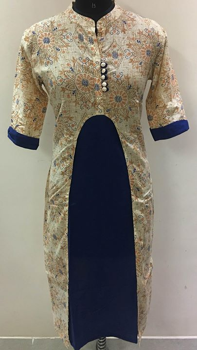 Designer selfie kurtis manufacturer from Jaipur . We make all type of readymade embroidary and print kurtis in cotton and rayon fabric. Long length gher kurtis. You name it we have it. please whatsapp on 8003899649 for details  For more info visit us at http://goldenthreadjaipur.com/Designer-selfie-kurtis-manufacturer-from-Jaipur-We-make-all-type-of-readymade-embroidary-and-print-kurtis-in-cotton-and-/b397