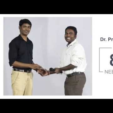 NEET-PG Preparation Strategy by Dr Praveen Kumar Natrajan ( UG : Stanley Medical College ) NEET-PG 2018 Score : 841 ( Tamil Nadu Rank 8 )