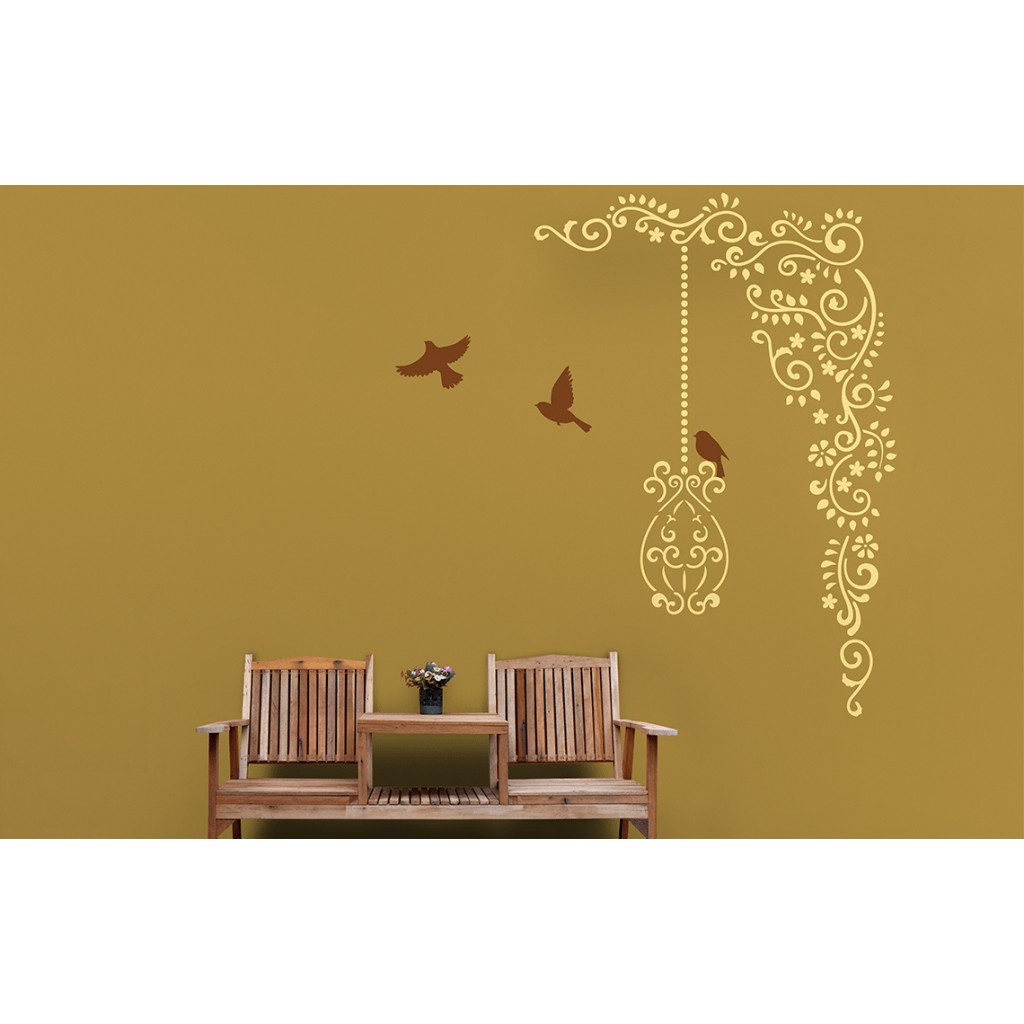 Fancy Wall Decorating Stencils Mold - Art & Wall Decor - hecatalog.info
