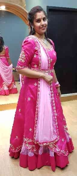 Designer wedding attire#gowns#dupatta#pink#pastelcharm#indianweddings#indiangowns#heritagewedding#destination wedding#bridaldress#bridesmaid#bridesaffairs#weddingdiaries#weddingbuzz#weddingasia#Made in India#canada#worldwide delivery available For more details contact 09530053232/34