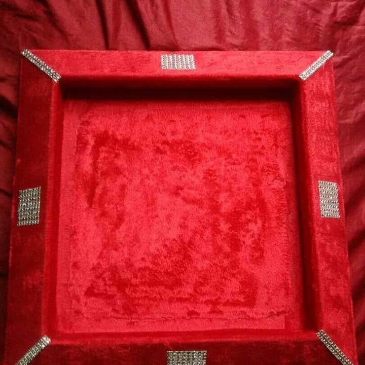 gifts trays for all occasion.. whether wedding or welcoming a new born..can be customized accordingly..for price WhatsApp @9696956252