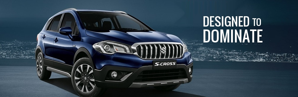 The S-Cross is a com