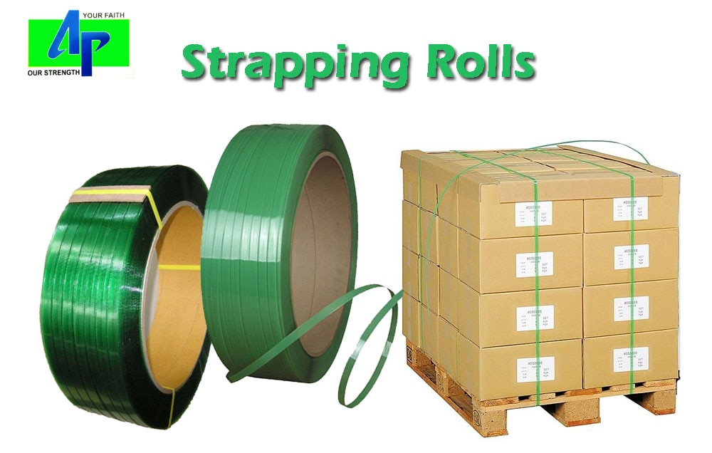 Strapping Roll manufacturer & supplier... Arihant Packaging..   Strapping, also known as bundling and banding, is the process of applying a strap to an item to combine, stabilize, hold, reinforce, or fasten it. Saves time and increases efficiency, made from high grade virgin polymer, does not corrode or rust...  Our premium grade plastic & pet strapping is reliable and cost effective.   Heat sealing & Manual strapping roll, Pet strapping roll ... Industrial Packaging... all under one roof...  Superior quality packaging solutions provider Arihant Packaging from Jaipur, Rajasthan, India...