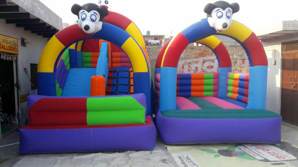 We are highly involved in providing a wide assortment of High Quality of Inflatable Bouncy. Manufactured of quality rubber and latex, these are easily Inflatable Slide Bounce and are demanded for air leak proof and high tear strength. One can avail from us at most reasonable rates in the market.  CALL ORSEND INQUIRY www.astrokidzinc.com Info@astrokidzinc.com +91 9911076230