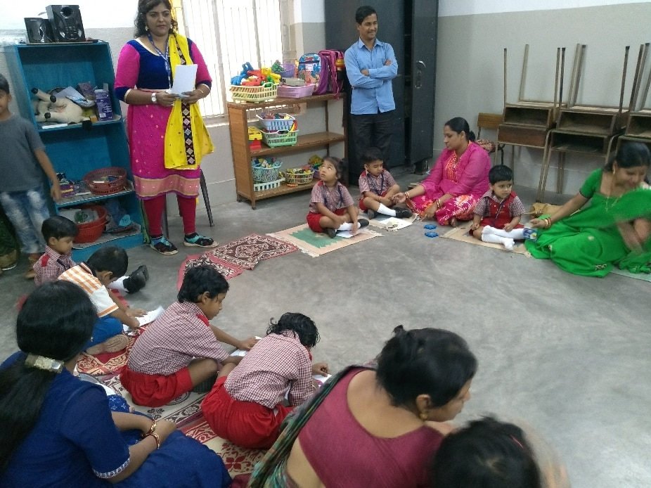 Every year at the beginning of the session. New students of Ruchika Preschool are given an Orientation along with the parents. The students enjoy a number of activities including swimming, art and craft etc.