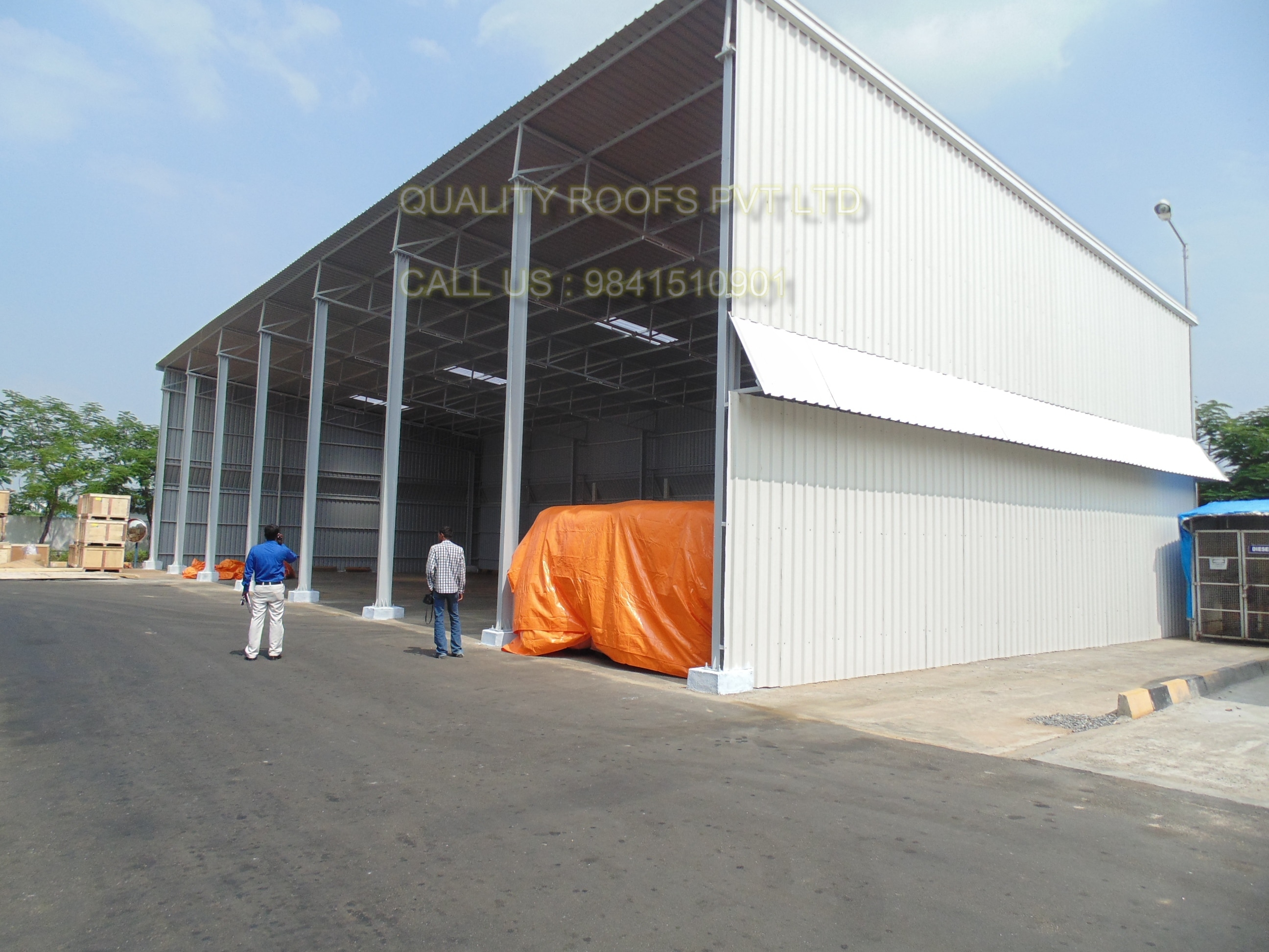 Industrial Shed Fabricators    We are the leading Industrial Shed Fabricators. Our product is highly reliable and adheres to the international quality standards. The entire product is fabricated under the supervision of skilled professionals, who possess enormous experience in their respective domains. We have gained huge applauds by our clients for our offered products. We are the best Factory Roofing Shed Contractors.