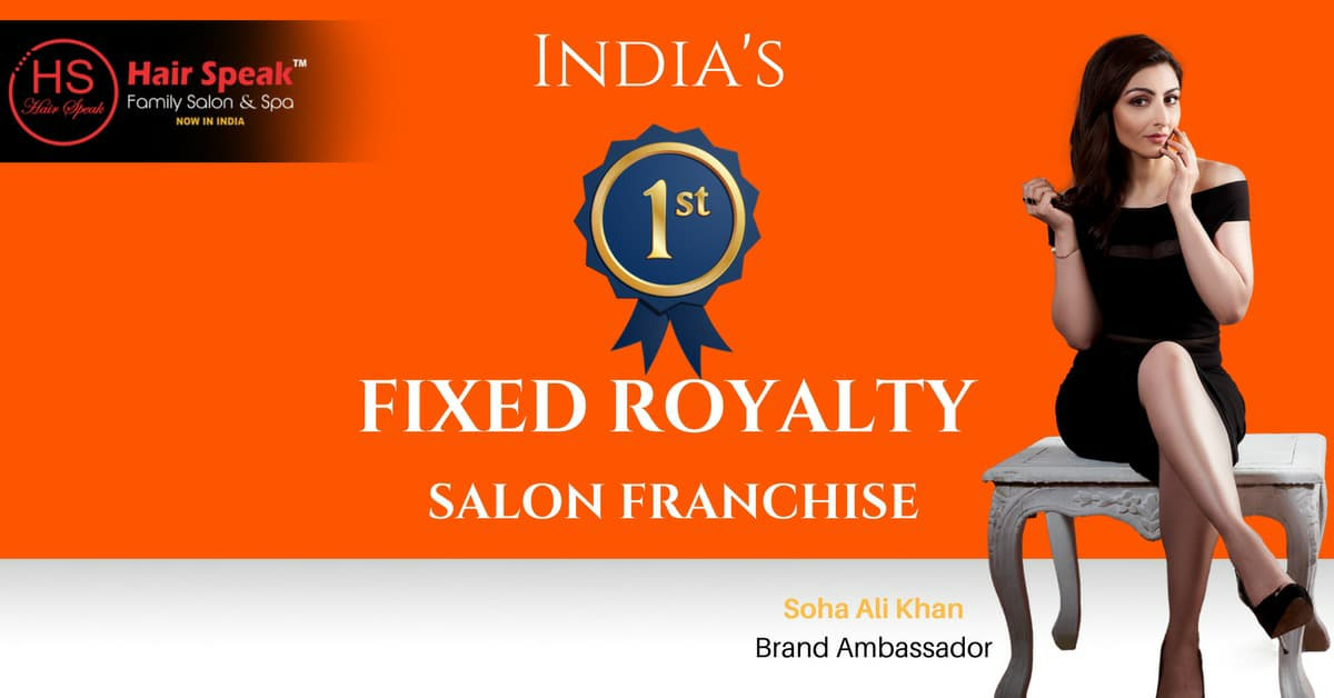 India's first Salon with Fixed royalty model .... Hurry up own a Best Franchise option !!! For any query please contact : 7899083088