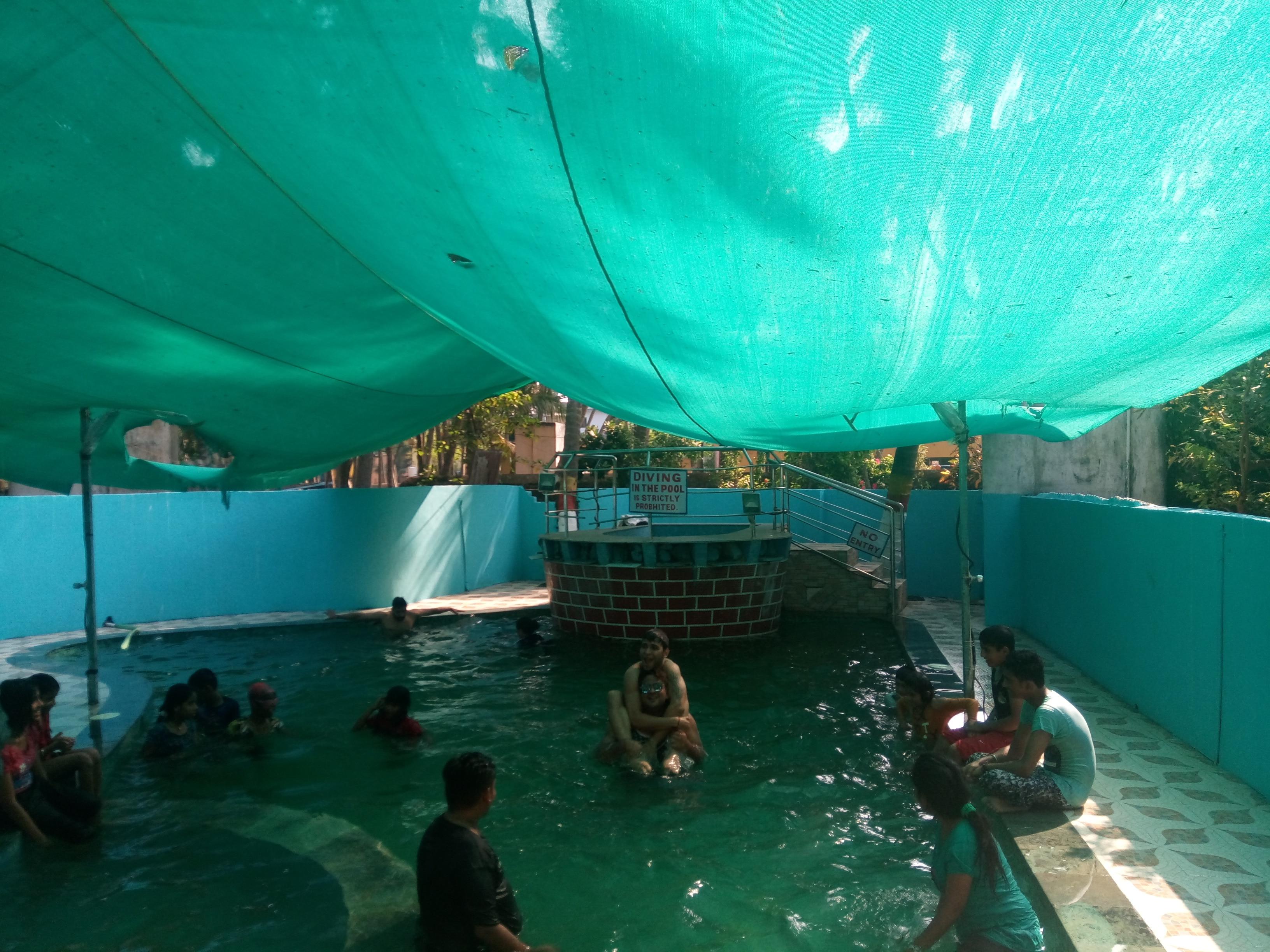 Family Pool at Gorai
