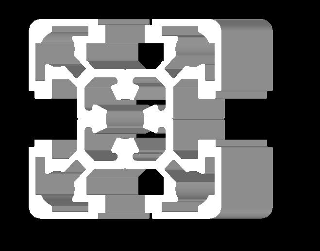 50x50 Aluminium Prof