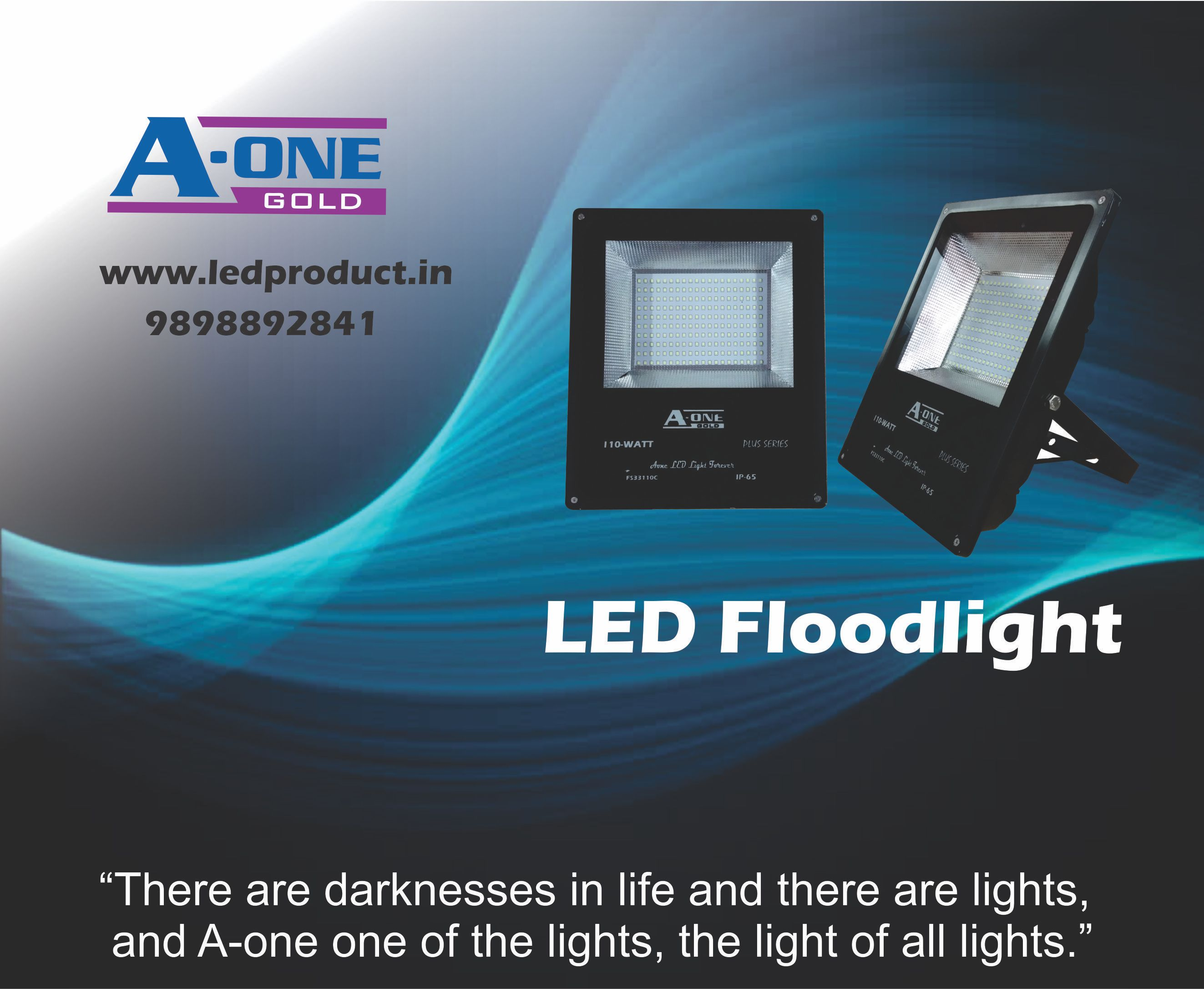 A-one LED floodlights can be defined as high-   OM LED SOLUTION