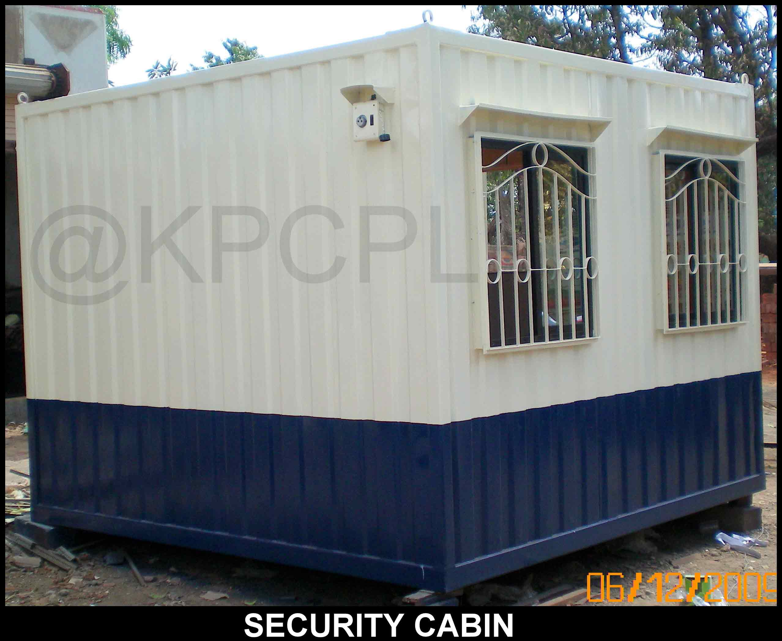 This is Portable Security Cabin . Size of this Portable cabin is 10