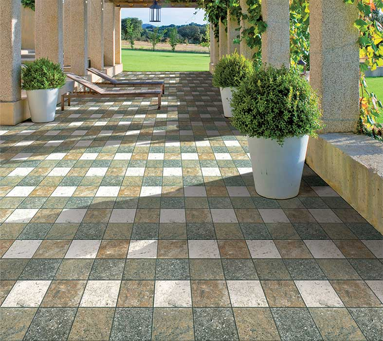 Outdoor Floor Tiles Price List With Fully Equ Lycos Ceramic India