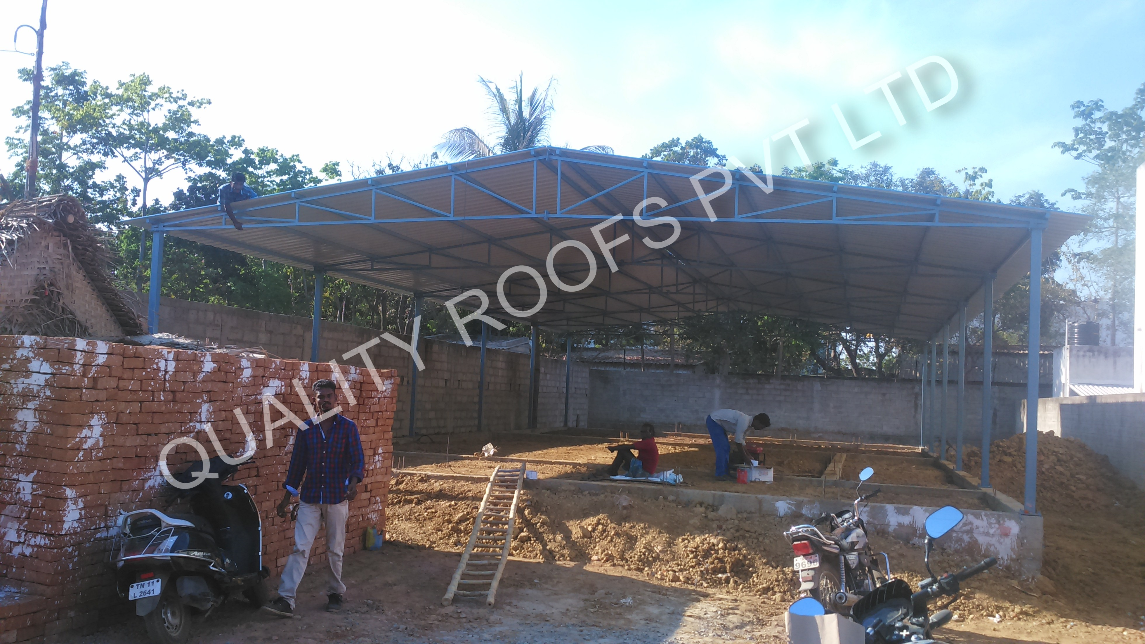 We are specialized for Industrial Roofing Contractors, Metal Roofing Contractors, Polycarbonate Roofing Contractors and Terrace Roofing Contractors In Tamilnadu, we undertake all kinds of Roofing work and Roofing Sheet supply at very competitive price.