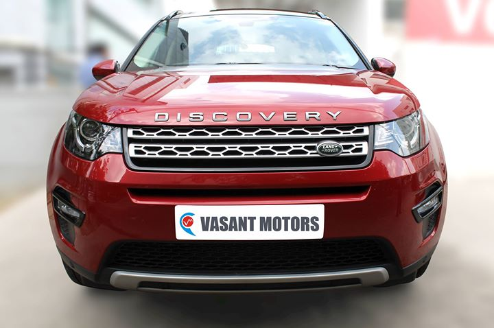 LANDROVER DISCOVERY SPORT (RED COLOR, DIESEL), 2016 model done only 16, 000km in absolute mint condition... buy now and get one year service pack from us. For further info call 7569696666. visit us @ www.vasantmotors.in. For more info visit us at http://vasantmotors.in/LANDROVER-DISCOVERY-SPORT-RED-COLOR-DIESEL-2016-model-done-only-16-000km-in-absolute-mint-condition-buy-now-and-get-one-/b2095