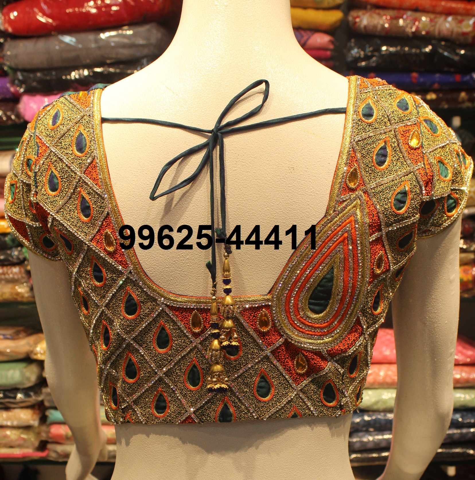 Bridal Blouse At Fabloon Fashion Boutique And Designer Wedding Blouse Tailoring.  Bridal Designer Boutique. Blouse Stitching. Wedding Designer Blouses. Fancy Blouse Tailors.  Check All For More Collections.