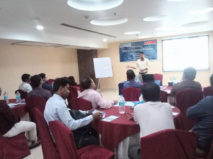 Thank you all who joined with us during our Bentley Academic Seminar today @Hotel Seetal , Bhubaneswar   Today . We hope the  our session was informative😀Bentley Institute