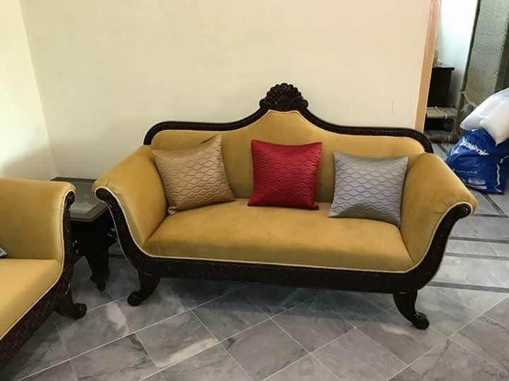 Wooden sofa Sofa ma