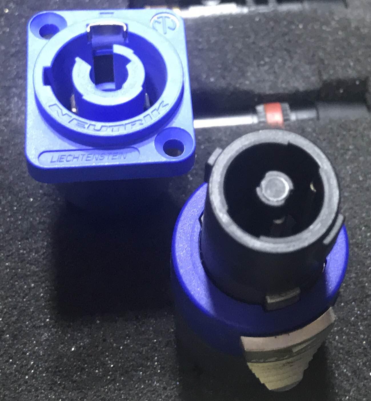 Neutrik connectors,