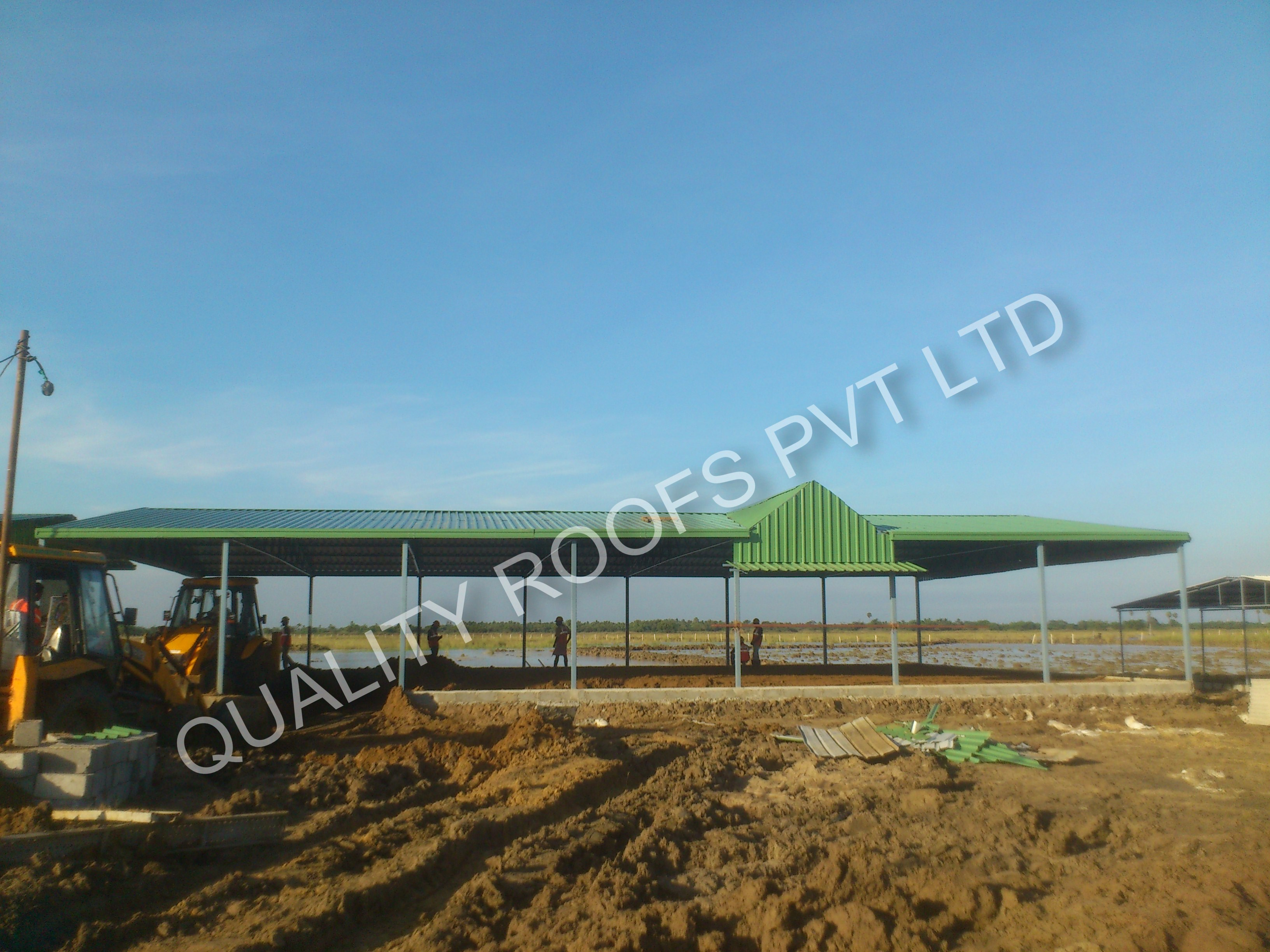 We are well established Commercial Roofing Contractors in Chennai. We handle all types of Roofing Services like Badminton Roofing, Steel Roofing, Puf Panel Roofing, metal roofing, Insulation roofing  etc., Our quality is the strength of our company to our professional ethic of providing a quality standard of Roofing Shed projects within the client's needs and budget. We aim to support and develop a tone and successful business through our quality and proper customer service.