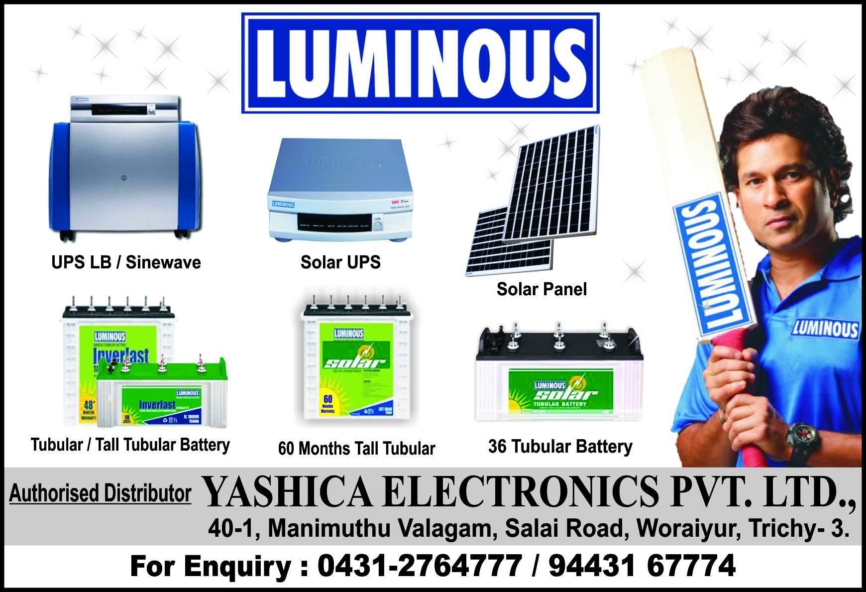 Luminous Battery Dis
