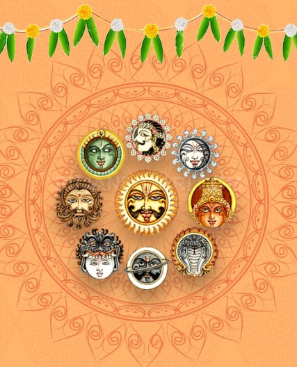 Navagraha Japa  The Navagraha Japa is performed to gain the favor of the lords governing the nine planets in our birth chart. Appeasing the lords of planets ensures trouble free life for the devotees.  For more <a title=