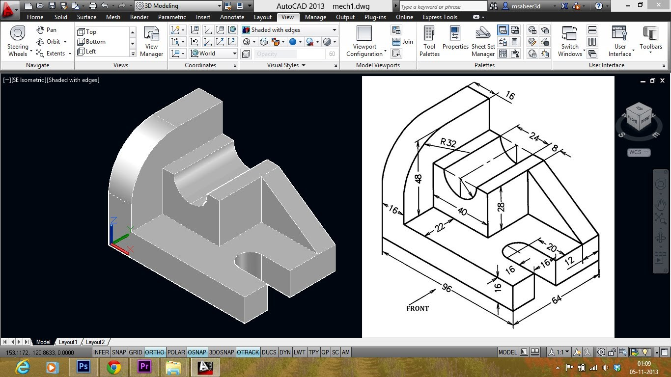 AutoCAD® Mechanical 2018 AutoCAD® Mechanical 2018 software includes all the functionality of AutoCAD software, plus comprehensive libraries of standards-based parts and tools for automating common mechanical drawing tasks. AutoCAD® Mechanical software is AutoCAD® software for manufacturing, purpose-built to accelerate the mechanical design process. It includes all the functionality of AutoCAD, plus a comprehensive set of tools for automating mechanical engineering tasks, such as generating machine components, dimensioning, and creating bills of material. AutoCAD Mechanical provides a library of more than 700, 000 standard parts, supports multiple international design standards, and helps users detail and document designs created in Autodesk® Inventor® software. AutoCAD Mechanical offers engineers a competitive edge by helping them save hours of effort, so they can spend time innovating rather than drafting. Think CAD, it is Premier CADD!! Premier CADD training services in mysore is a CADD CENTER with an enviable track record of 20 years in the field of CADD, covering training on software's like AUTOCAD, REVIT, 3DS MAX, REVIT MEP, CREO, CATIA, INVENTOR, FUSION 360 and not to mention PLM concepts.