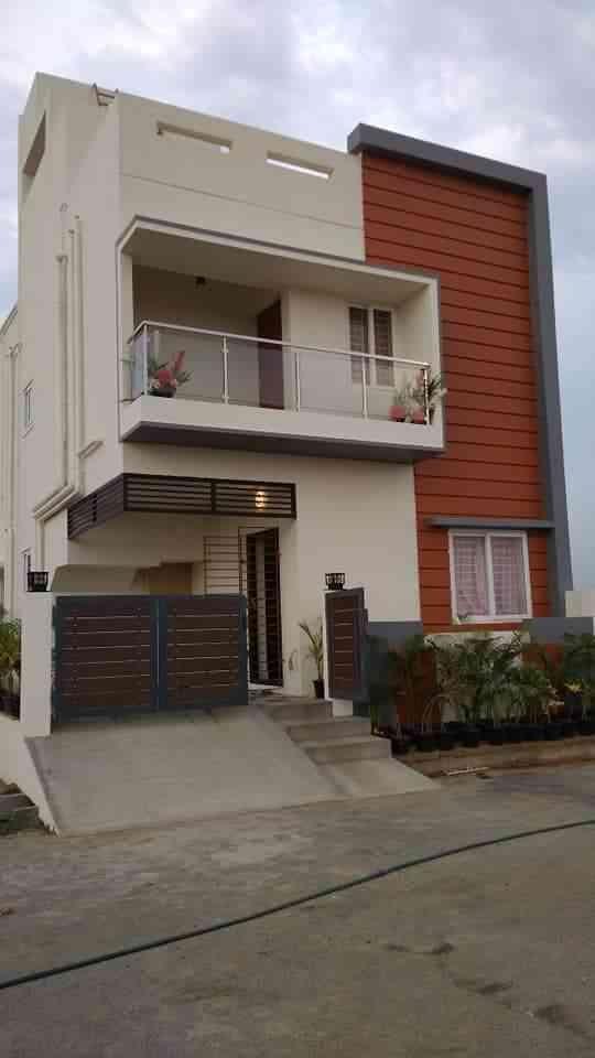 Front Elevation Tiles For Home : D floor tiles home elevation design indian magic