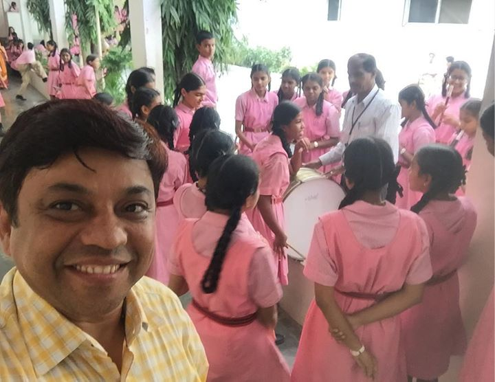 #Indirapriyadarshini School, Children practising their Band. So Lovely to see & Listen them perform with so ease.  We have been associated with the School from past 3 years Giving Complete support on IT SOLUTIONS, right from Setting up Computer Labs to their Website Design, Digital Marketing & OUR SCHOOL ERP. Thanks to Management Mr Haridas KN & Mr Shivkumar Nair & Dr Mohan Nair Along with whole staff  for all their support. www.schoolerp.mobi