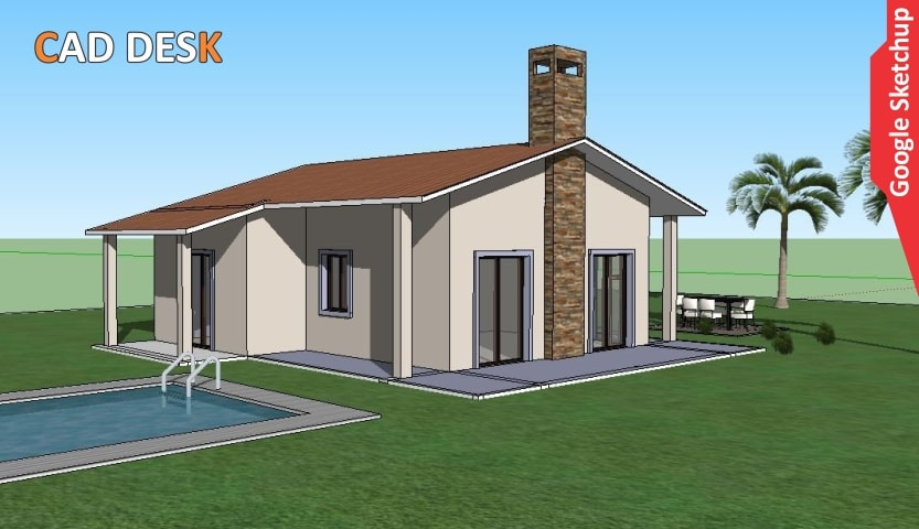 GOOGLE SKETCHUP Google Sketchup is a 3D model | CAD DESK | MANINAGAR
