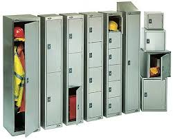 School Lockers:  Our organization is involving in offering school Lockers for their applications in varied industries and schools are provided with multiple lockers and are powder coated that make the storing of products easier & safe. Offers in attractive designs, these can be customized in different sizes and dimensions as per School's requirement.