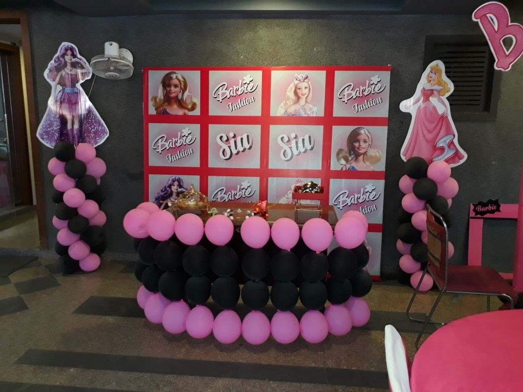 Barbie theam party or for ballon decoration ...