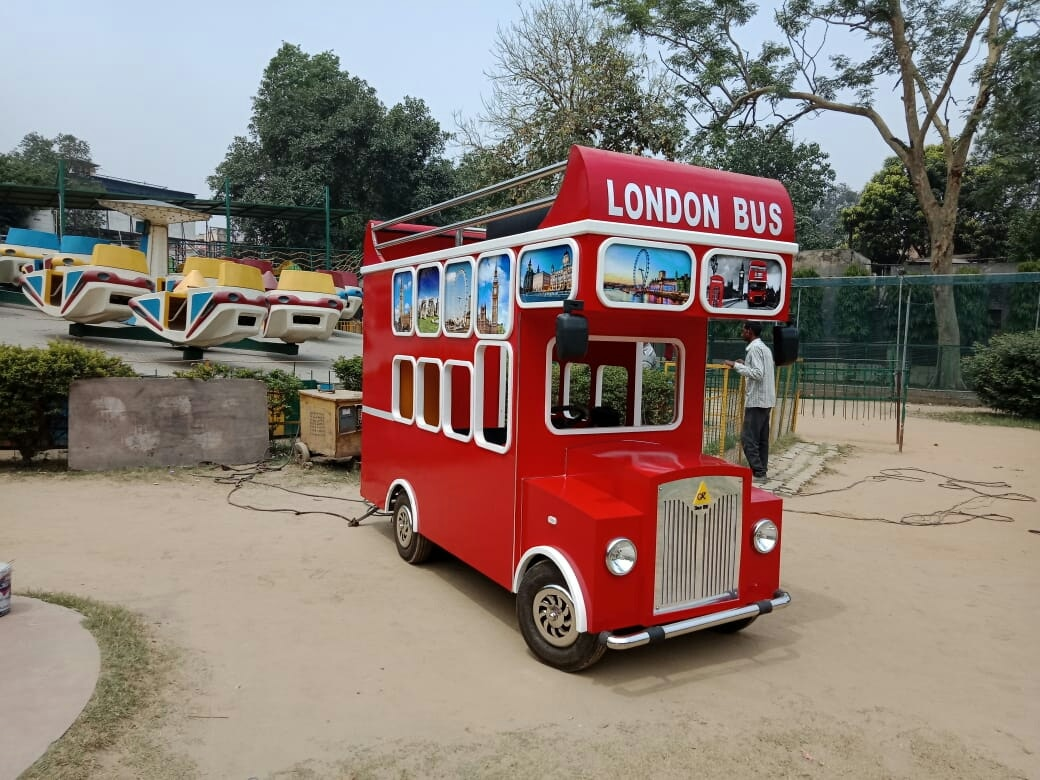 Ready stock available of London bus for your amusement park, shopping mall and resorts. www.astrokidzinc.com +91 9911076230