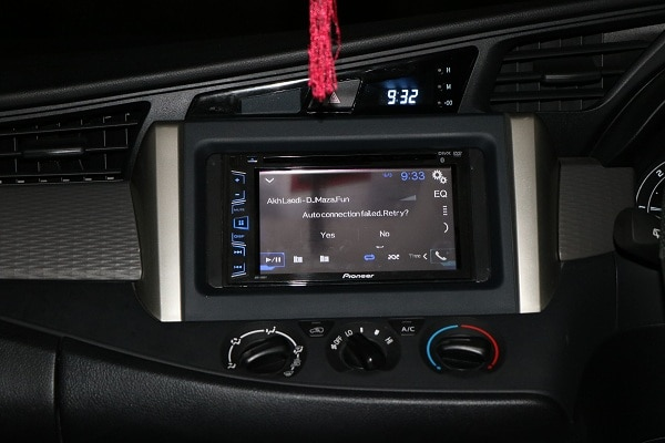 installed pioneer sy
