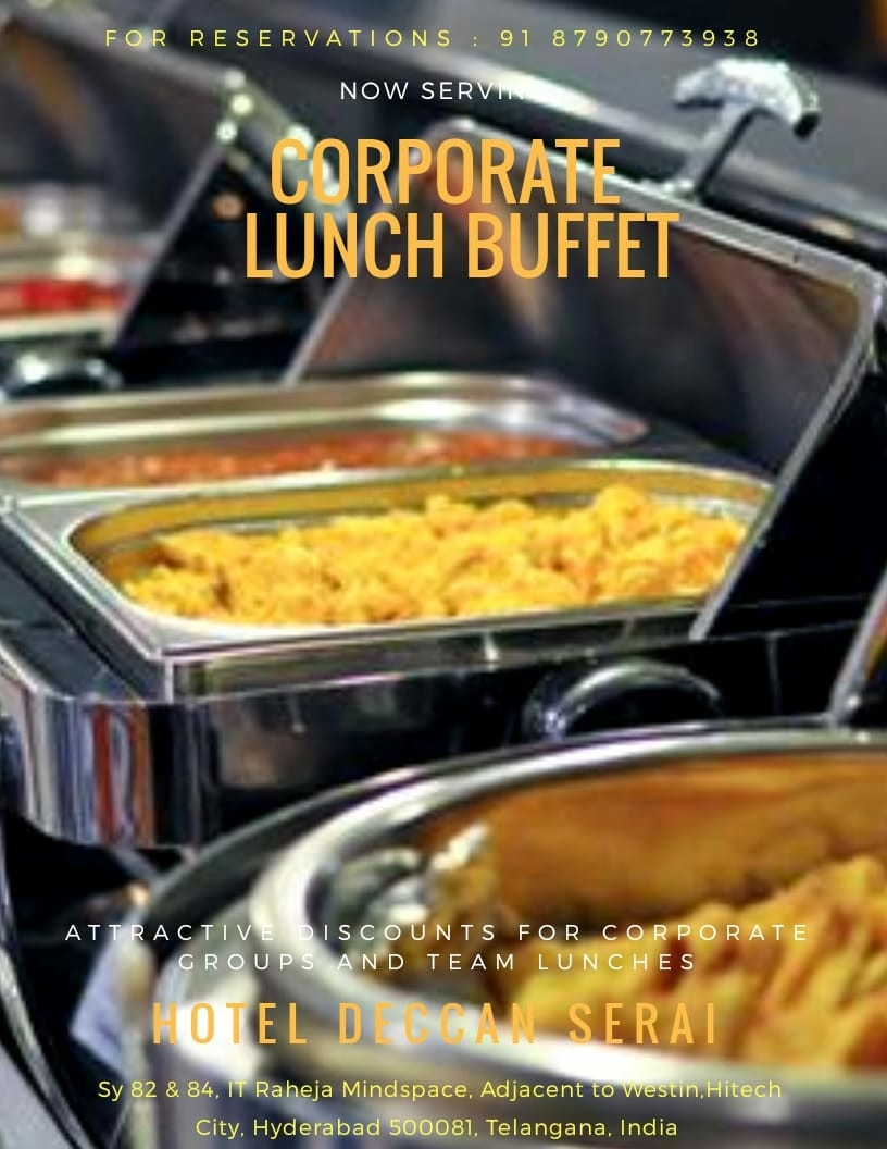 Remarkable One Of The Best Buffet Re Hotel Deccan Serai Home Interior And Landscaping Ponolsignezvosmurscom