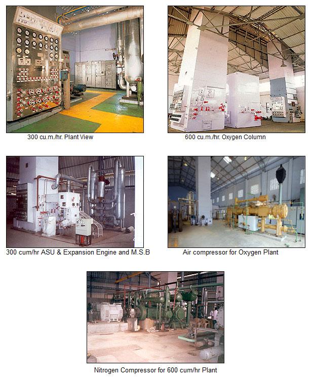 Oxygen / Nitrogen Gas Plants