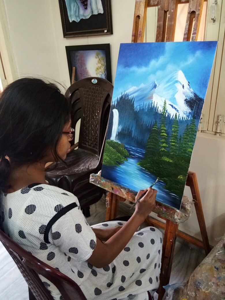 Oil painting classes in Ameerpet  Oil Painting sales in Ameerpet  Oil painting landscape  Oil painting materials sales in Ameerpet  Oil painting institution in Ameerpet  Oil painting in Ameerpet  Art classes in Ameerpet