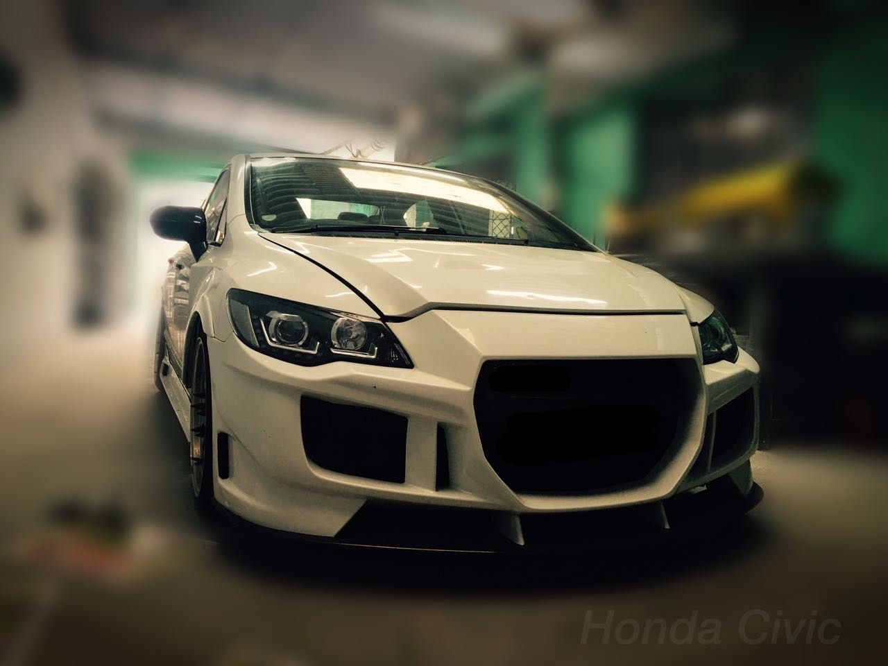 CRZ kit for Civic Front bumper modification , rear bumper modification, bonnet modification, customized civic modification