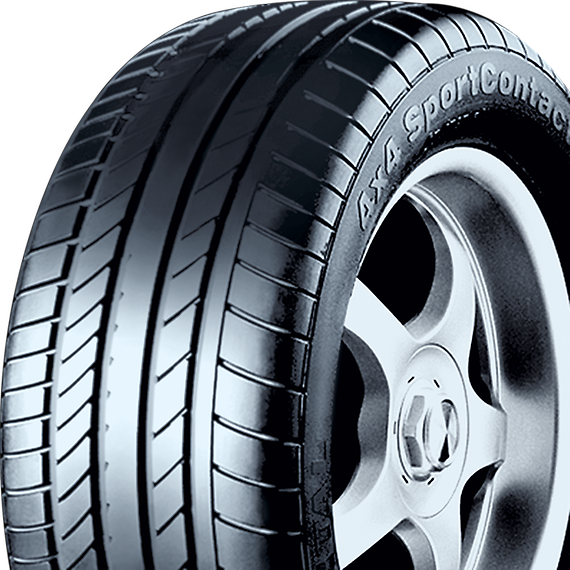 Continental Tyres  in ChromepetGood cornering stabilityGood protection against aquaplaningSuitable for high-speed road use