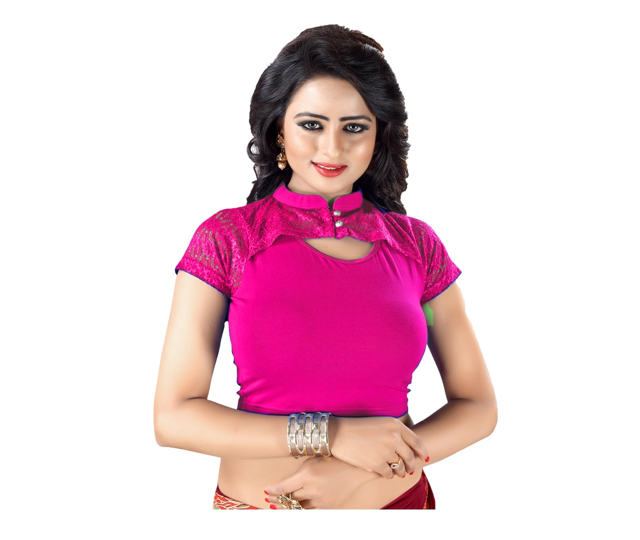 37a4e4bf0ee2f Stretchable blouse readymade in India Stretc
