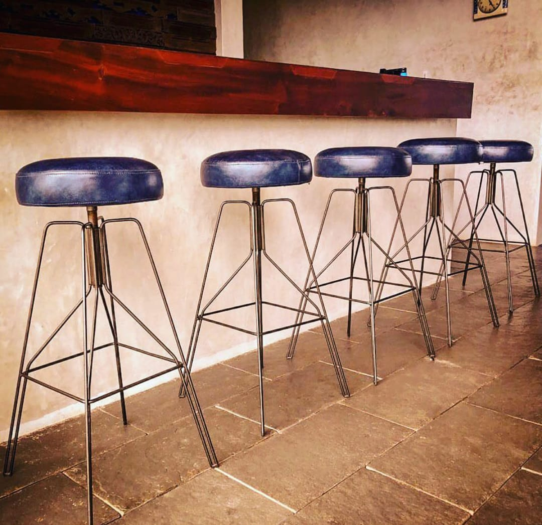 Think of it, We will craft it!!Designed bar stools from Excel Team!Architect: StapatiWe Design, Engineer, Fabricate & Install Steel works in Calicut, Kannur, Malappuram, Wayanad, Kochi, Thrissur, Trivandrum, Kottayam, Bangalore, Mysore, Mangalore & Coimbatore.For more details, visit us at http://excelteam.in/