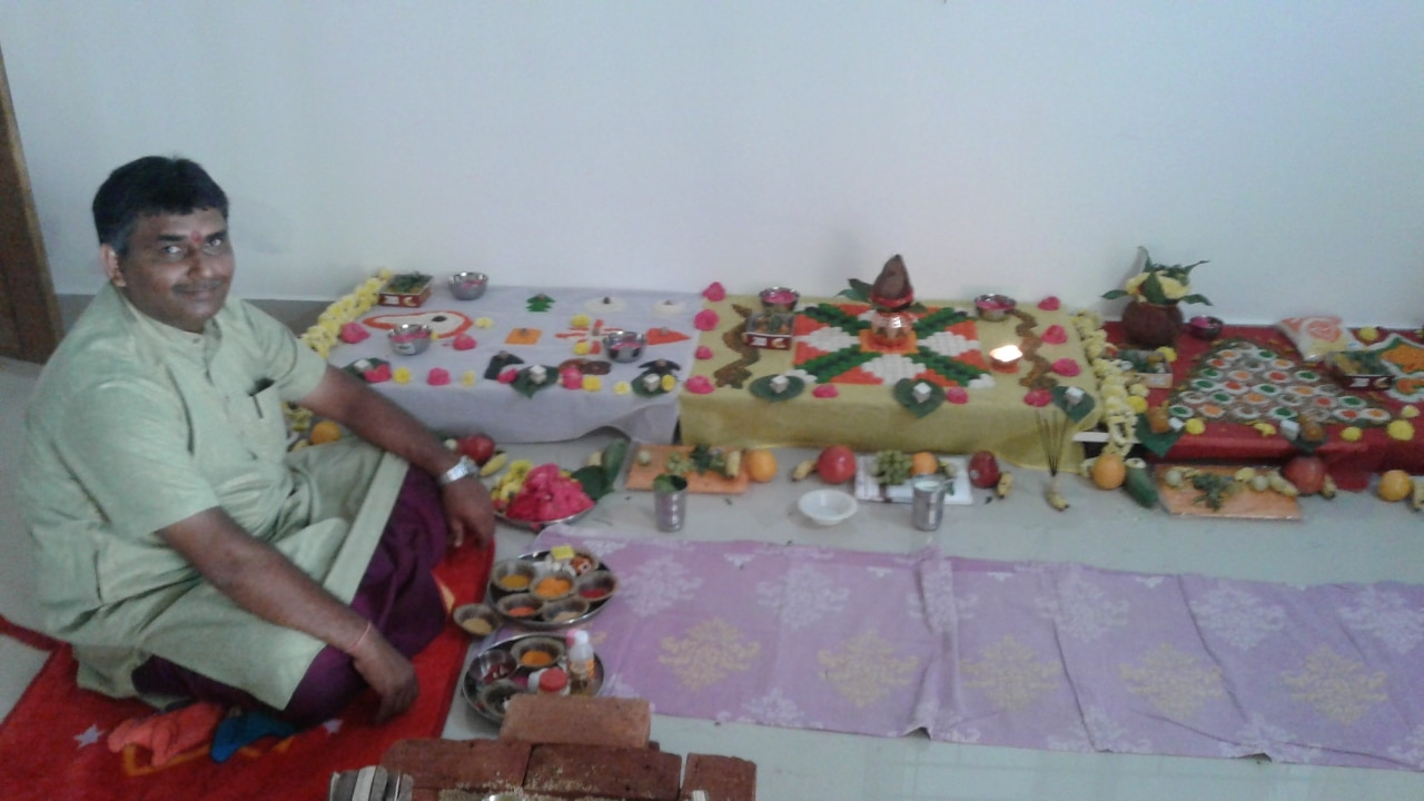 Pandit for puja in b